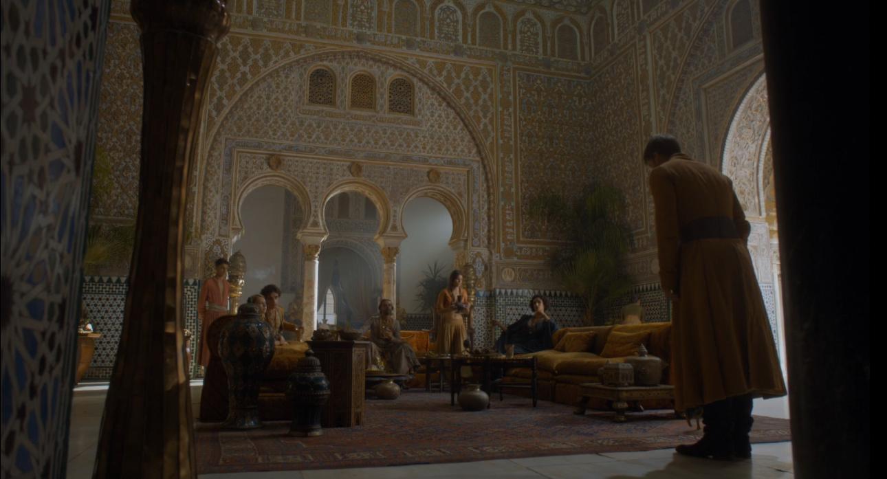 Reunion de Jaime con Doran Martell en Dorne, ruta de juego de tronos - Los viajes de margalliver